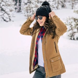 Mountain Khakis Ranch Shearling Hooded Coat